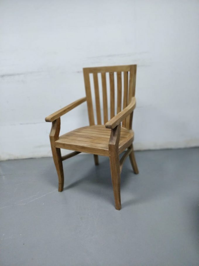 Wooden Arm Chair | Falaknaz - the Warehouse